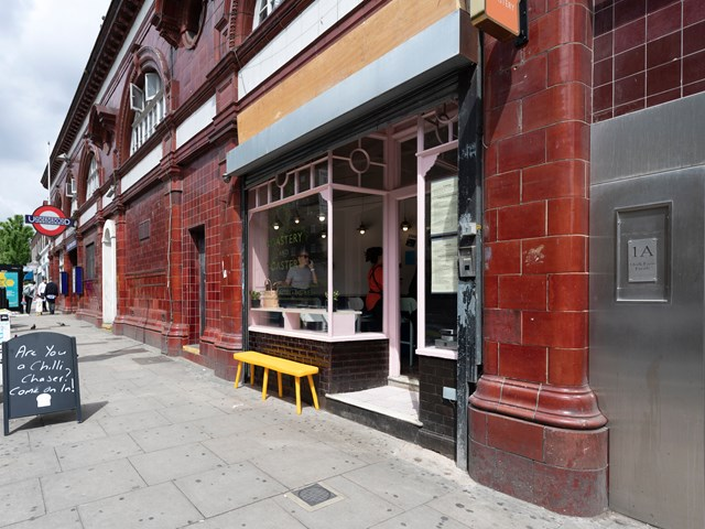 TfL Image - Roastery and Toastery Coffee Shop at Chalk Farm