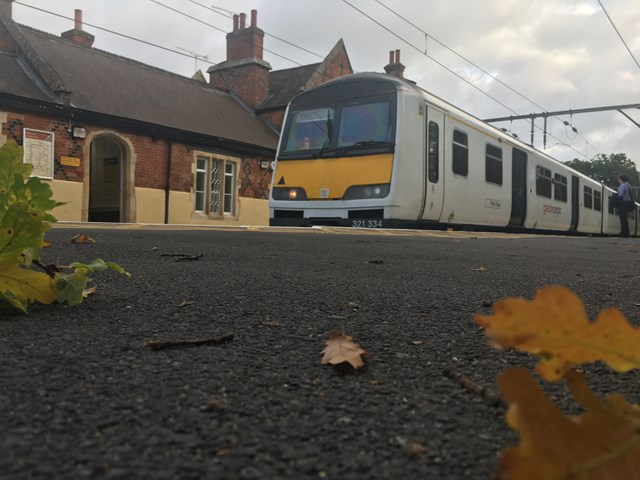 Network Rail's leaf-busting teams prepare to keep trains moving on the Anglia rail network: Autumn railway Anglia