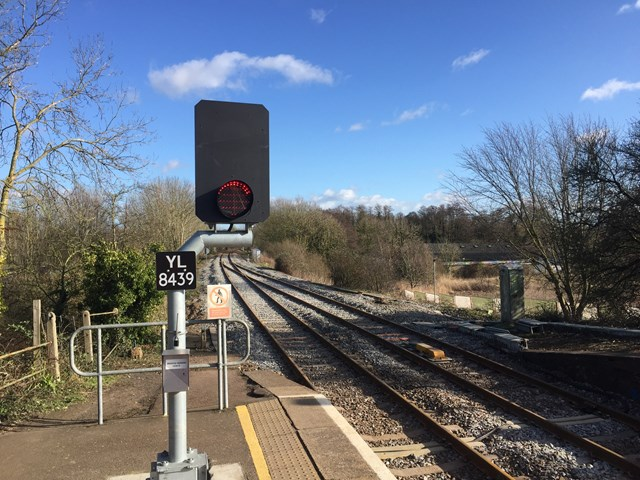Acle station new signal 1