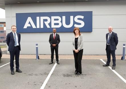 Airbus visit