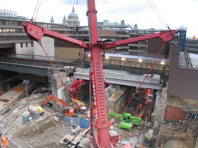 Blackfriars Bridge Slide - After