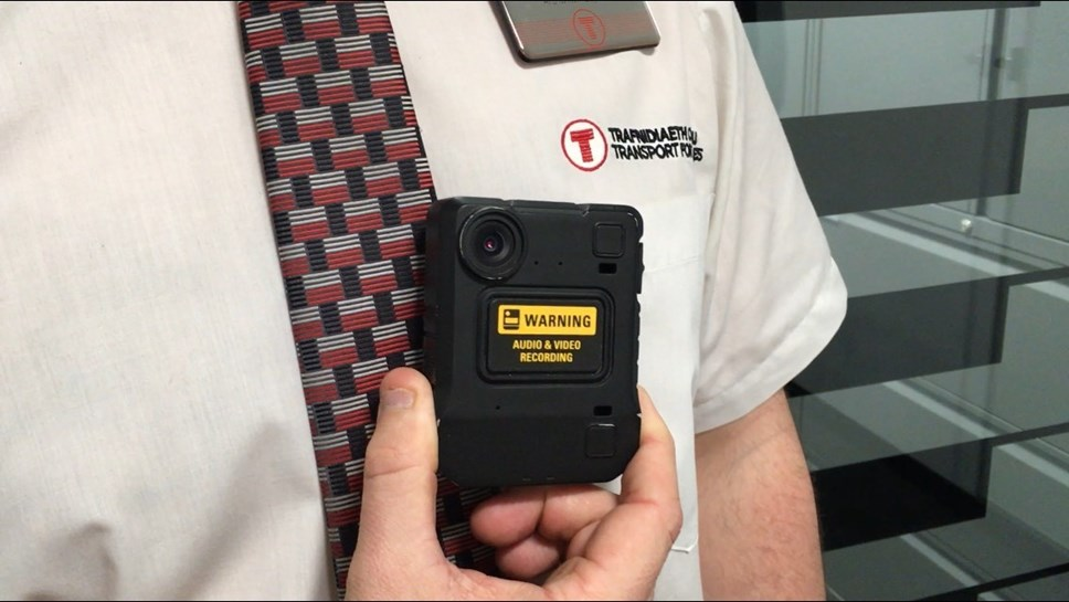 New Body Cameras for Transport for Wales Staff: camera 2