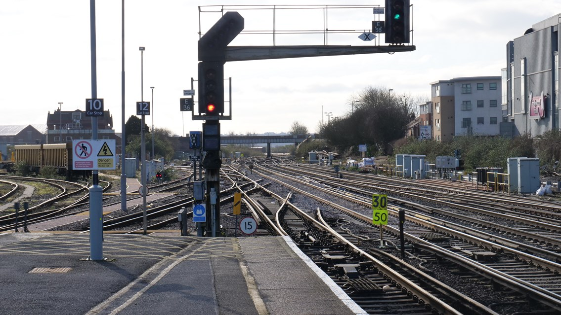 Network Rail releases cause of freight train derailment at Eastleigh: Eastleigh new track