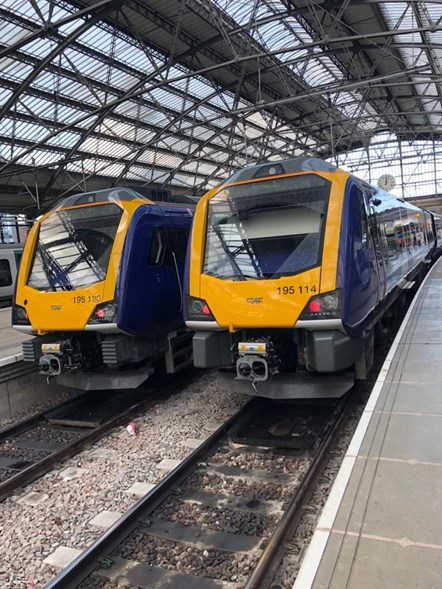 New trains at Lime Street 3