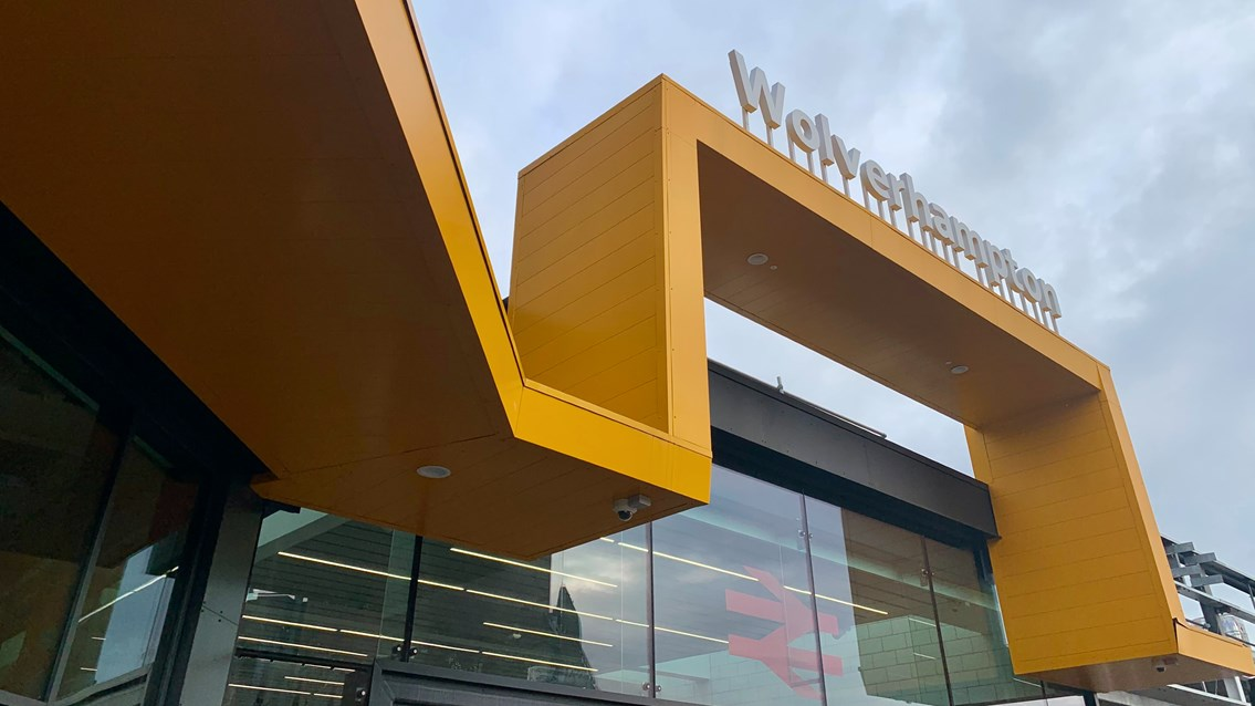 Passengers to benefit from new lift at Wolverhampton station: Wolverhampton station - external