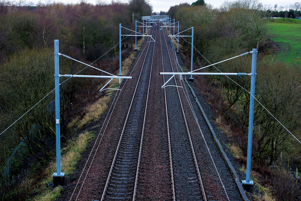 Network Rail awards £49m Shotts Line electrification contract: Electrification will pave the way for faster more resillient services