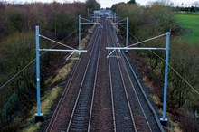 Electrification will pave the way for faster more resillient services: Previous electrification work delivered by Carillion for NetworkRail Scotland