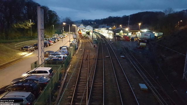 Spring bank holiday investment means more new railway tracks for Oxenholme: Oxenholme station