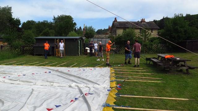 Network Rail workers volunteer at North Yorkshire Moors Railway: Network Rail workers volunteer at NYMR-2