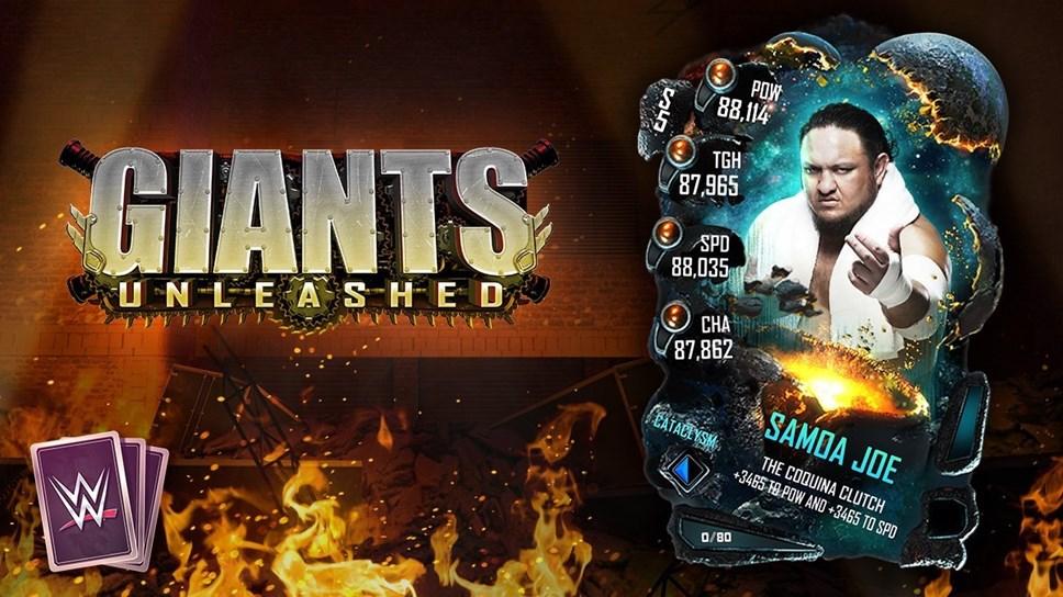 WWESC S5 Giants Unleashed Art