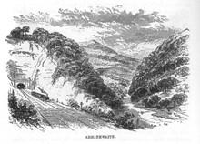 Settle-Carlisle railway image at Armathwaite from late 1800s