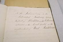Stephenson notebook inside 2