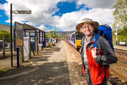 Walks Around Britain with Northern: Andrew White, writer and presenter of TV series Walks Around Britain, who will be developing a series walks specially chosen to be easily accessible from Northern's stations.