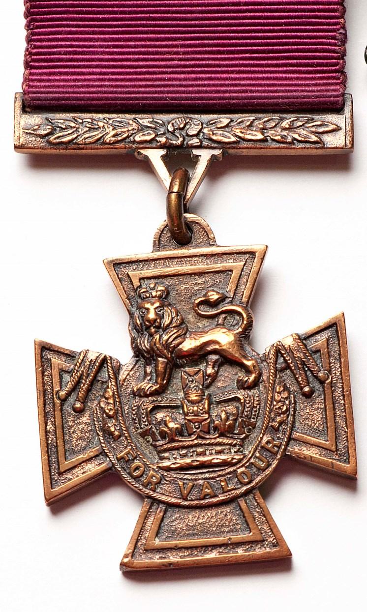 Object of the week- Arthur Aaron's Victoria Cross : leedm.n.1953.0125.001a.jpg