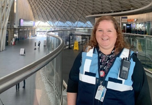 Network Rail's station team at King's Cross keep critical workers moving during COVID-19 crisis: Caroline Hynds, Shift Station Manager, King's Cross station
