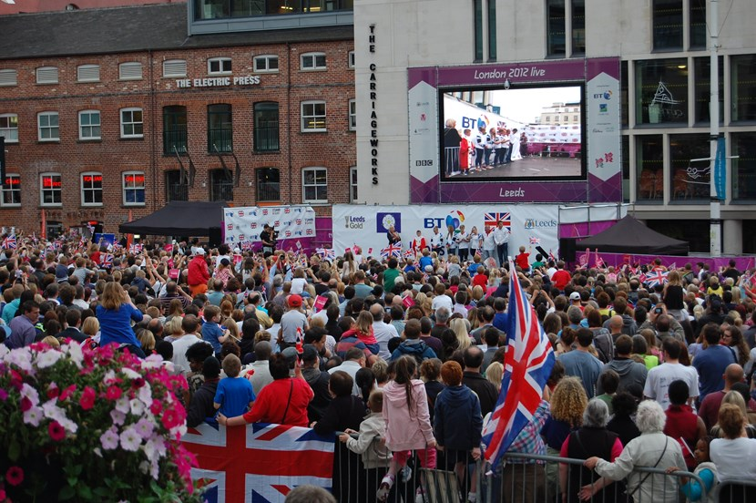 Good luck message from Leader of Leeds City Council to Team GB athletes at Rio 2016 Paralympic Games: olympics.jpg