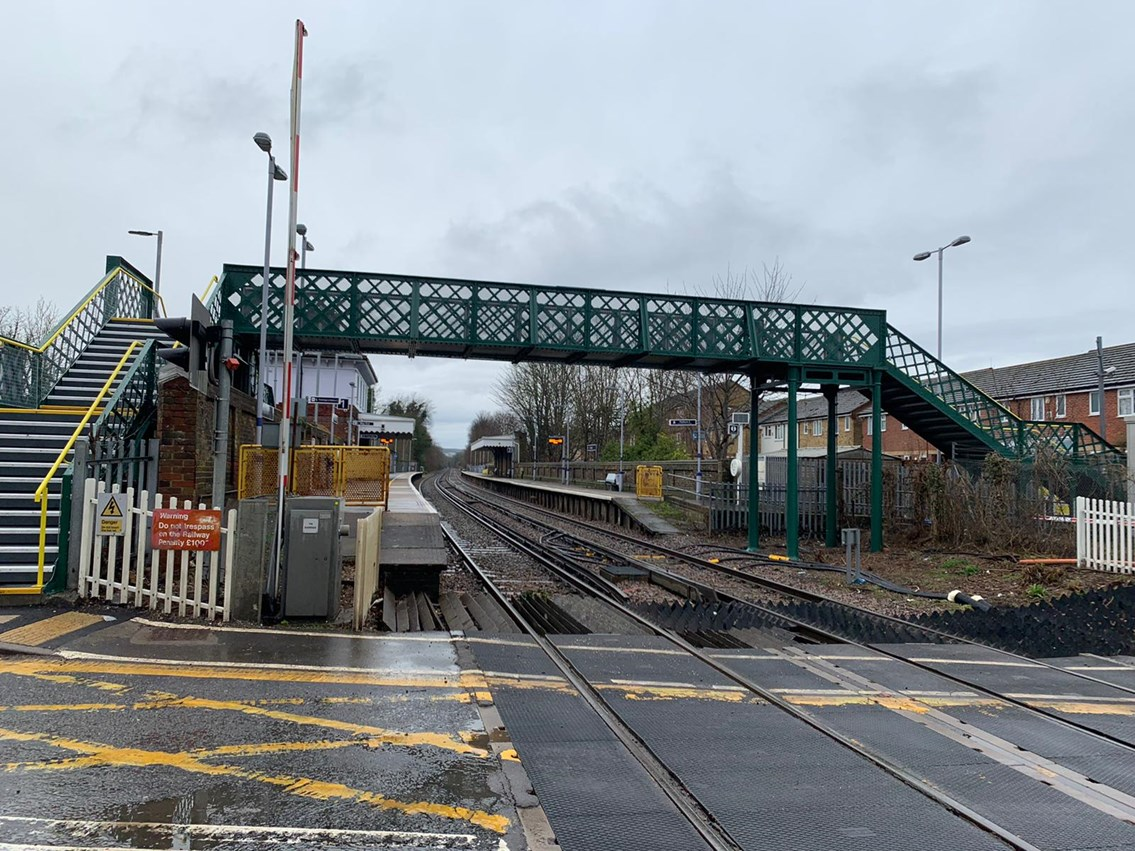 £0.5m investment at Snodland station in Kent brings improved facilities: Snodland station