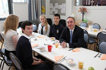FM opens new Kirkwall school: First Minister opens new Kirkwall school