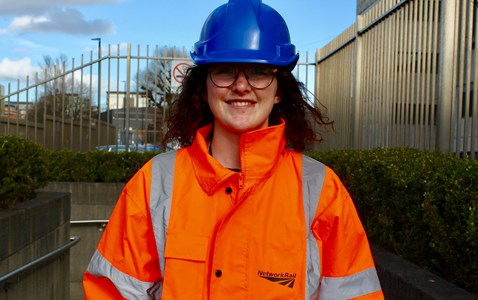 Amy Clare, Network Rail 'Year in industry student'
