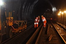 Sevenoaks Tunnel: Network Rail engineers worked round-the-clock at Sevenoaks Tunnel to lay new drains deep underground