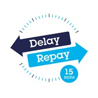 Southeastern introduces 'Delay Repay 15' compensation: Delay Repay logo