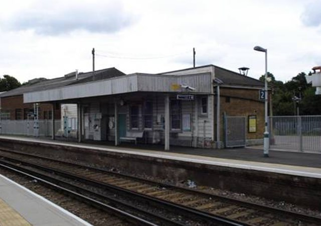 Current Smitham Station: Smitham station as it is today