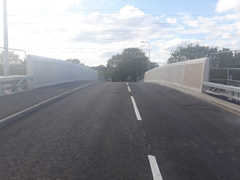 Mardy Road bridge in Cardiff reopens