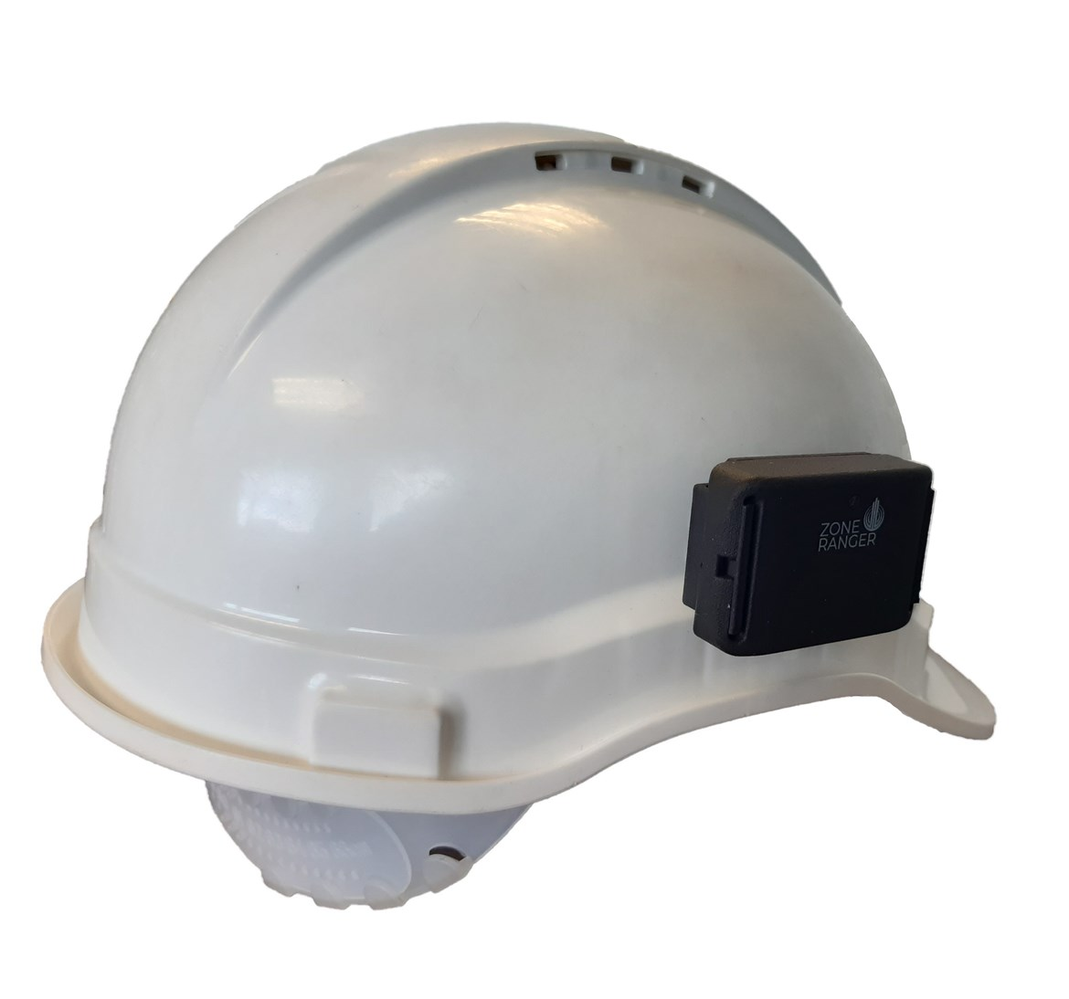British firm's social distancing helmets keep HS2 workers safe: Zoneranger device affixed to helmet