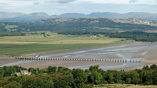 Furness line passengers to benefit from a more reliable railway in Arnside: Kent Viaduct Arnside