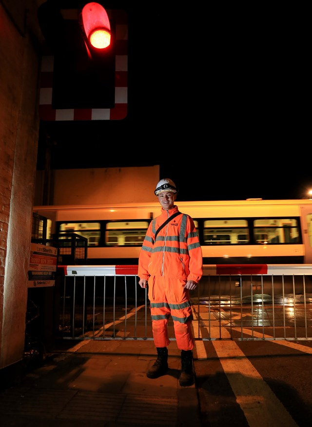 Network Rail apprentices help the South East's railway run – and you can join them: Network Rail apprentices help the South East's railway run – and you can join them: Dave Rayner, Network Rail apprentice from Kent