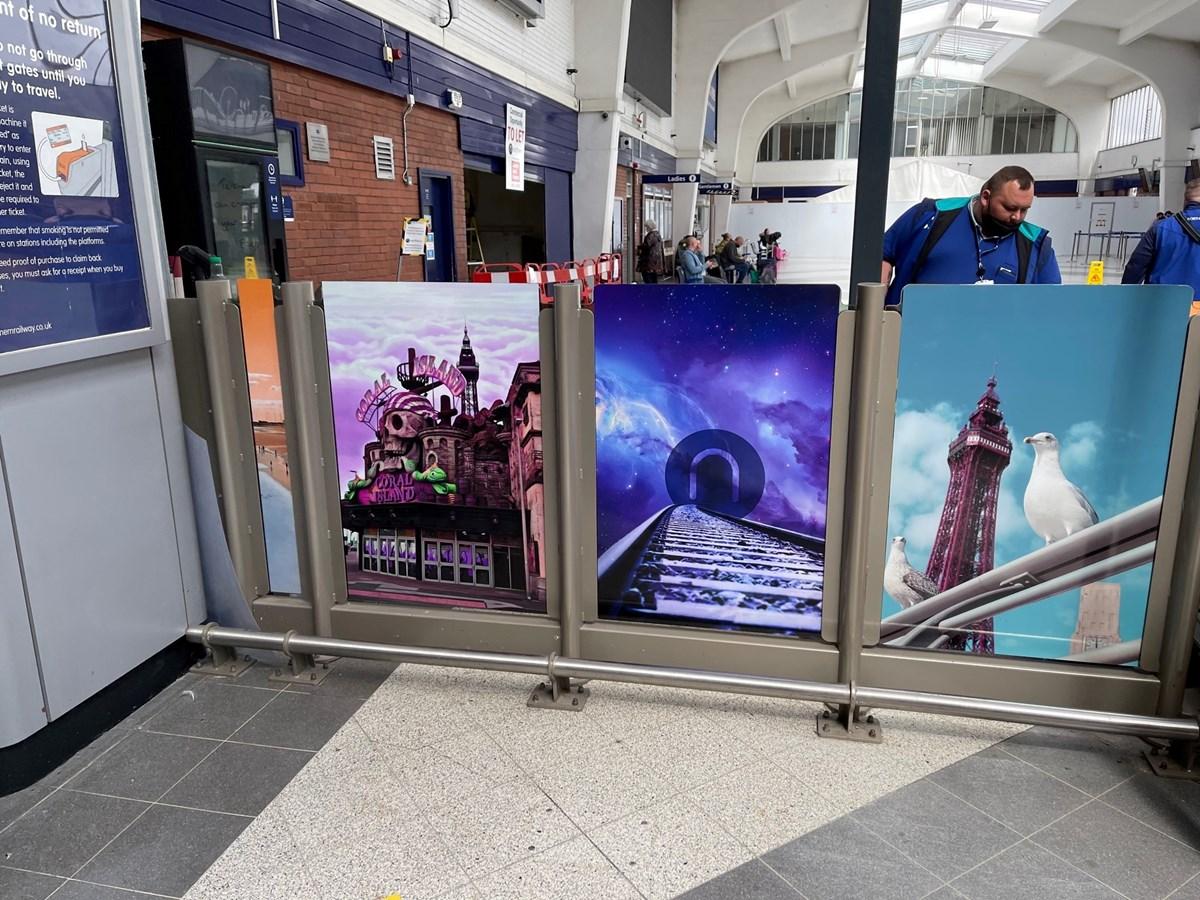 Blackpool North Gateline Artwork  (1)