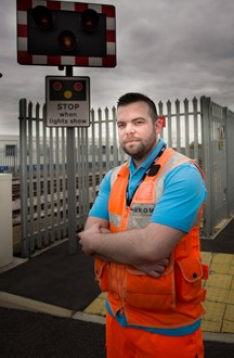 Samaritans training - Ben West, from Network Rail Sussex: Samaritans - Ben West, from Network Rail Sussex