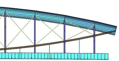 Original design of Royal Albert bridge restored when redundant lower diagonal bracings are removed