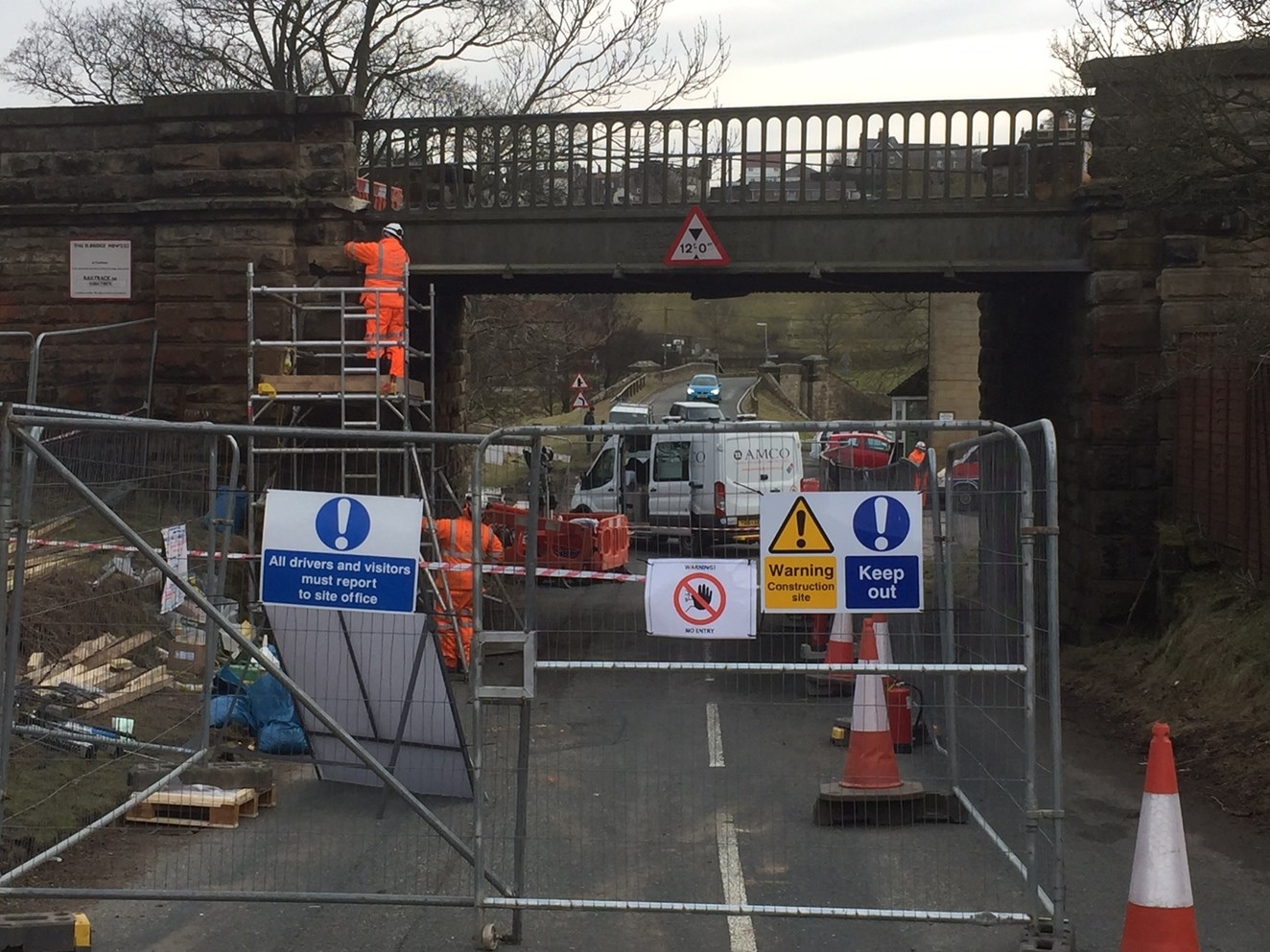 Whitby branch line to reopen after bridge strike: The railway bridge at Castleton Moor was struck by a vehicle on Monday 12 March 2018