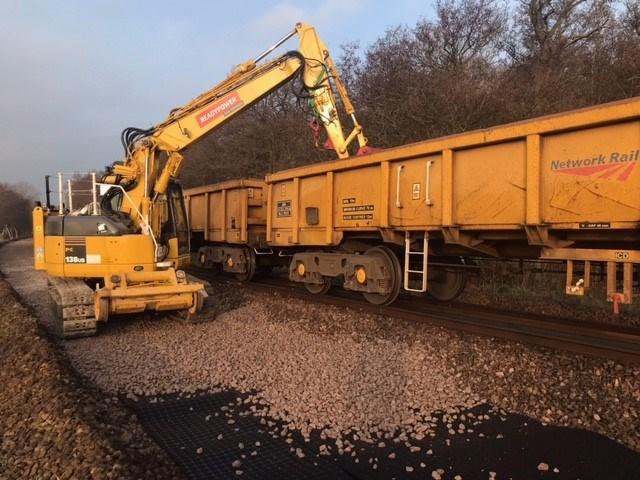 Somerleyton track renewal 4