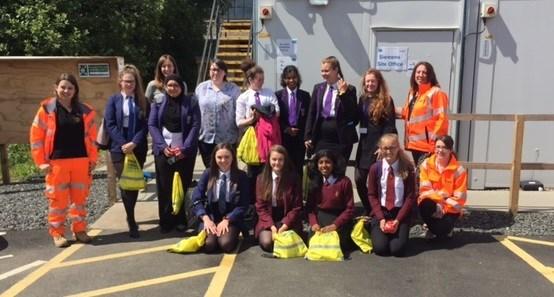 Stirling bridge project marks International Women in Engineering Day: IMG 0430