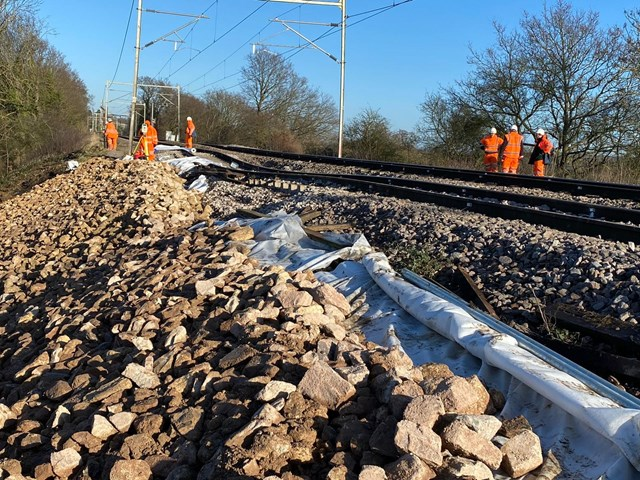 Emergency rail works at Ingatestone to continue throughout the week: Ingatestone track issues