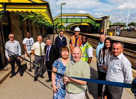 New lease of life for Worksop railway station: Worksop  1