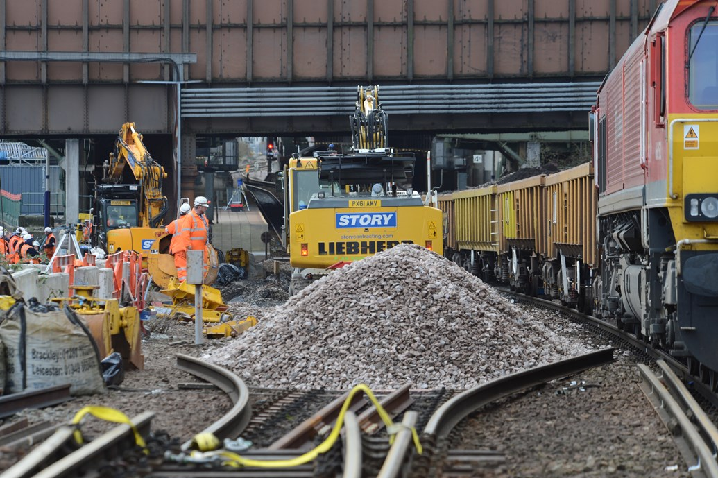 Trains resume at Manchester Victoria after successful Christmas rail ...