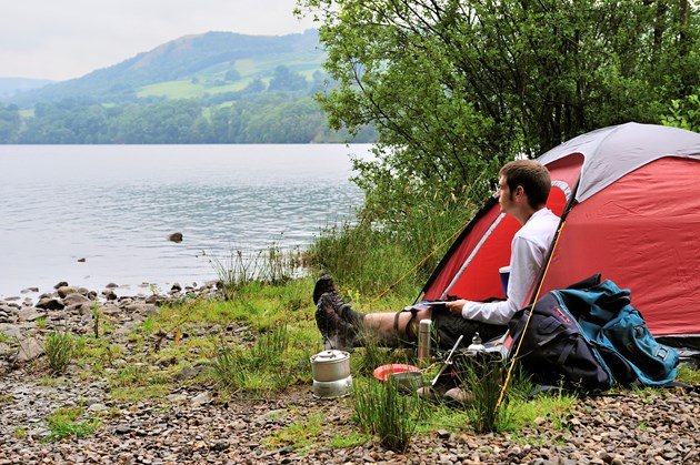 Watch out for wildfire risk this Easter: Wild camping ©Lorne Gill SNH (2)