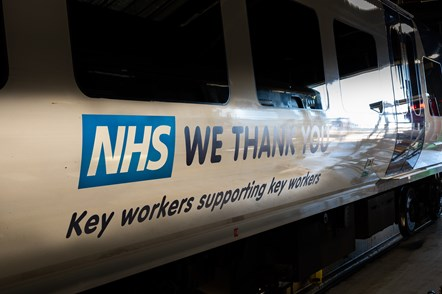 Northern transforms trains in salute to NHS heroes: Northern salutes NHS 1
