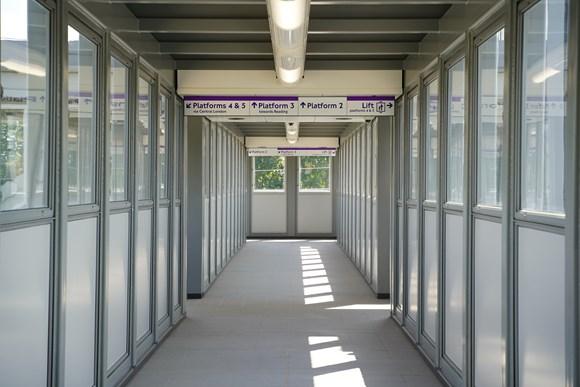 TfL Image - West Drayton new footbridge with lifts