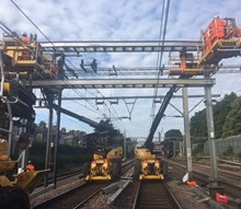 Brentwood wiring train