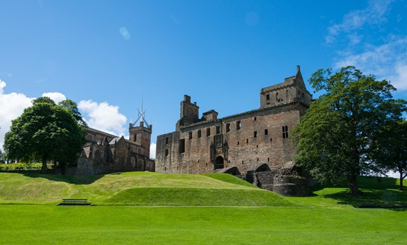 Historic reopening as Linlithgow Palace and Blackness Castle once again welcome visitors: DP 155 010716179 - Linlithgow Palace