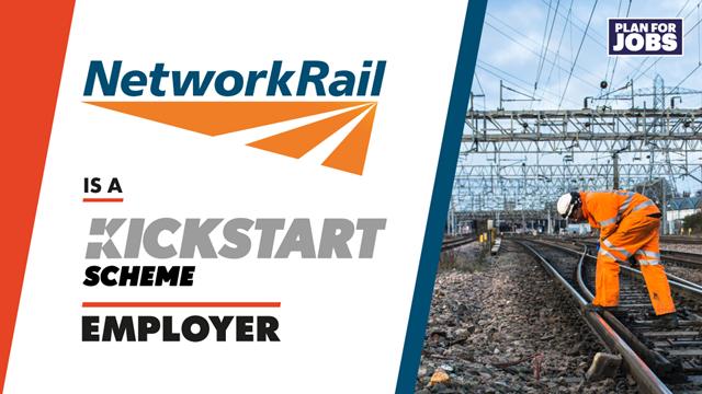 Network Rail takes on first cohort of placements under Government's Kickstart scheme: KS-NetworkRail 2 Tw