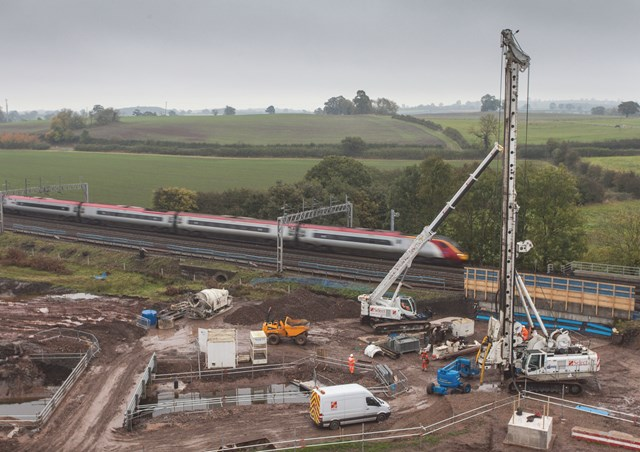 Check before you travel ahead of Easter railway upgrades: Work at Norton Bridge, near Stafford