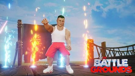 WWE2K BG Gronkster Entrance 2