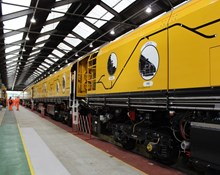 Network Rail's new grinding trains are faster, more efficient and cheaper to run