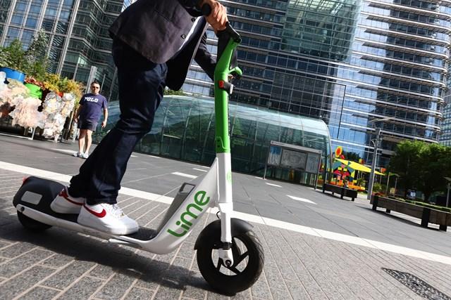 TfL Image - Lime e-scooter