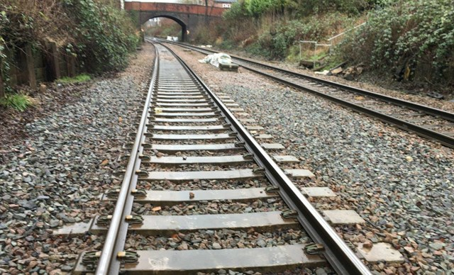 State of the track at 'Bleeding wolf' near Altrincham